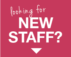 Looking for new staff button